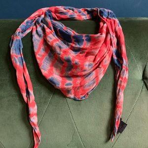 Eileen Fisher tie dye scarf